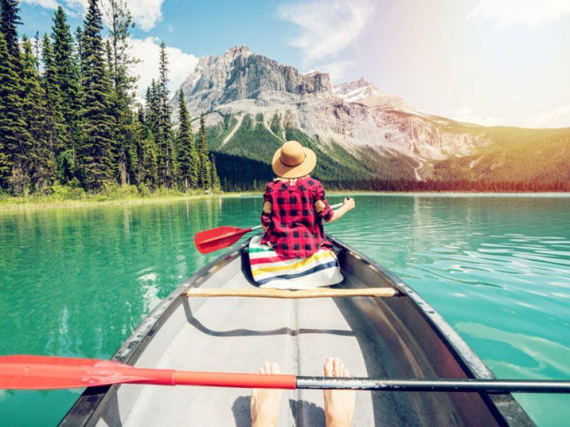 canada british columbia canoeing yoho national park istk