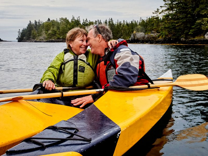 canada british columbia couple kayaking istk