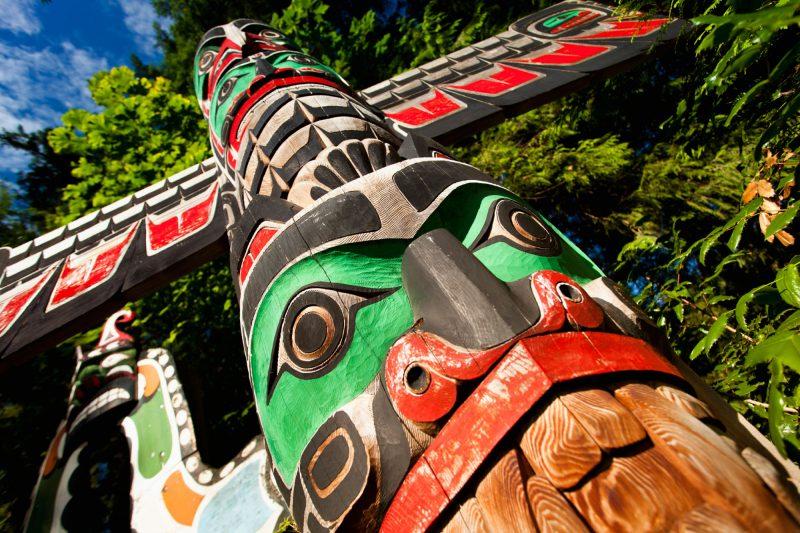 canada british columbia native totem istk