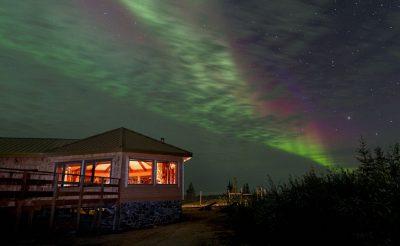 canada manitoba churchill aurora from nanuk lodge cw