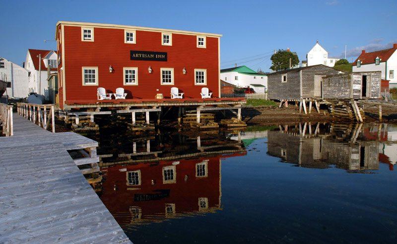 canada newfoundland artisan inn trinity exterior