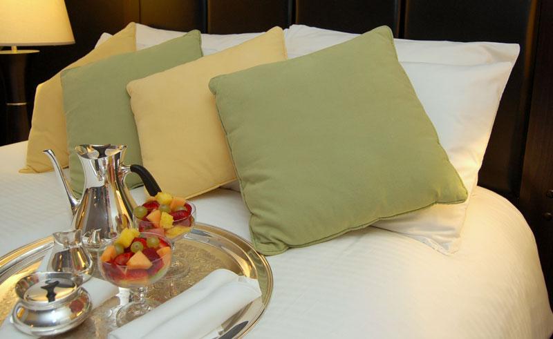 canada newfoundland leaside manor bedroom bed foodtray