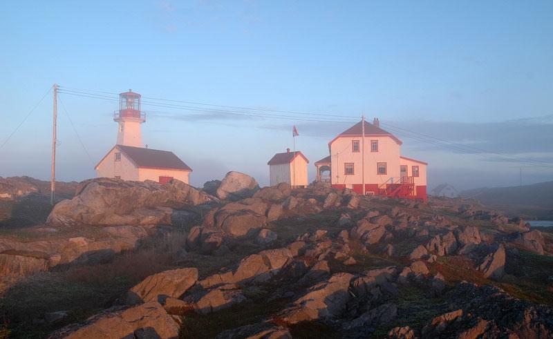 canada newfoundland quirpon lighthouse inn exterior