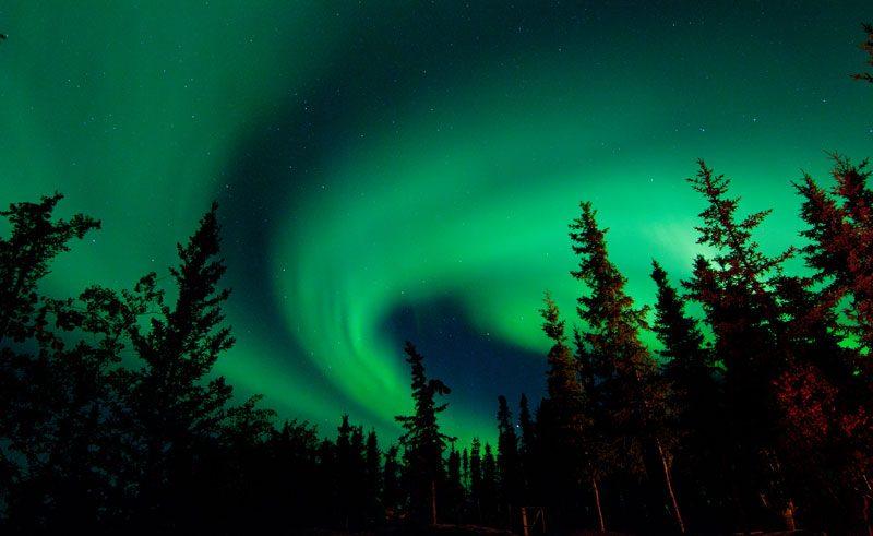 canada northwest aurora blachford lodge