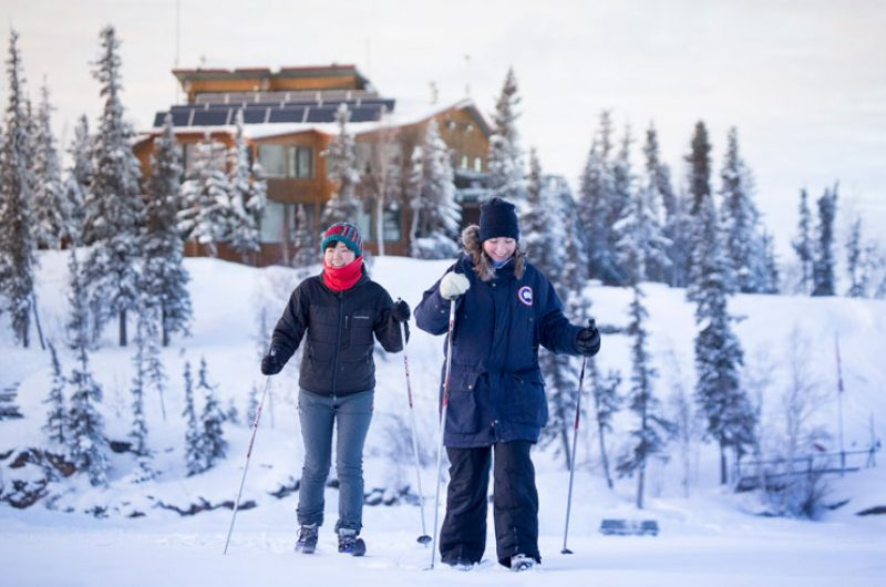 canada northwest territories cross country skiing bl