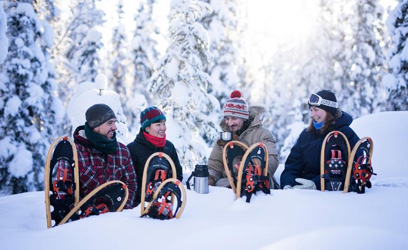 canada northwest territories snowshoeing bl