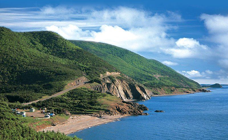 canada nova scotia cabot trail coastline nst