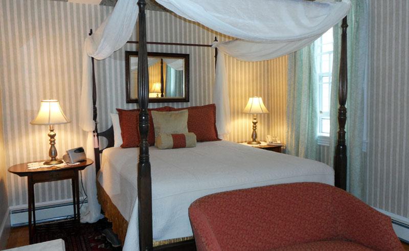 canada novascotia Hillsdale House Inn double bedroom