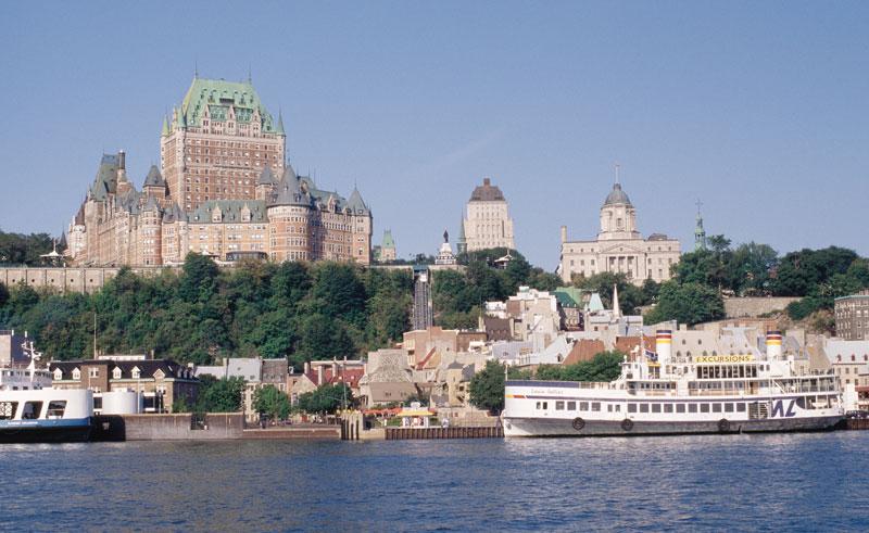 canada quebec city from river mtq