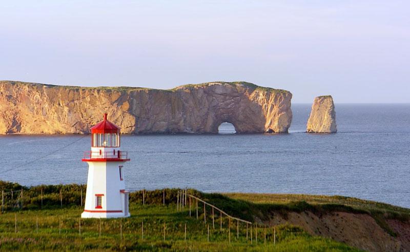 canada quebec gaspe peninsula lighthouse dq