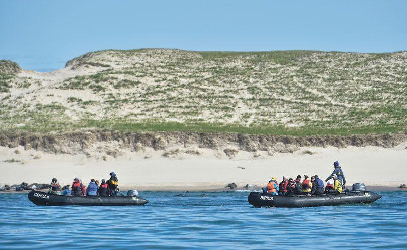 canada sable island zodiac cruise ac