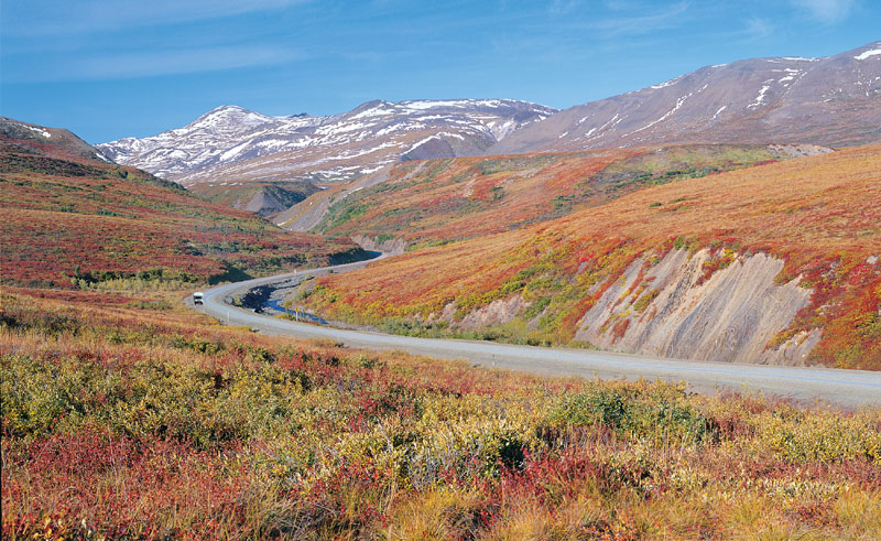 canada yukon open roads driving ctc