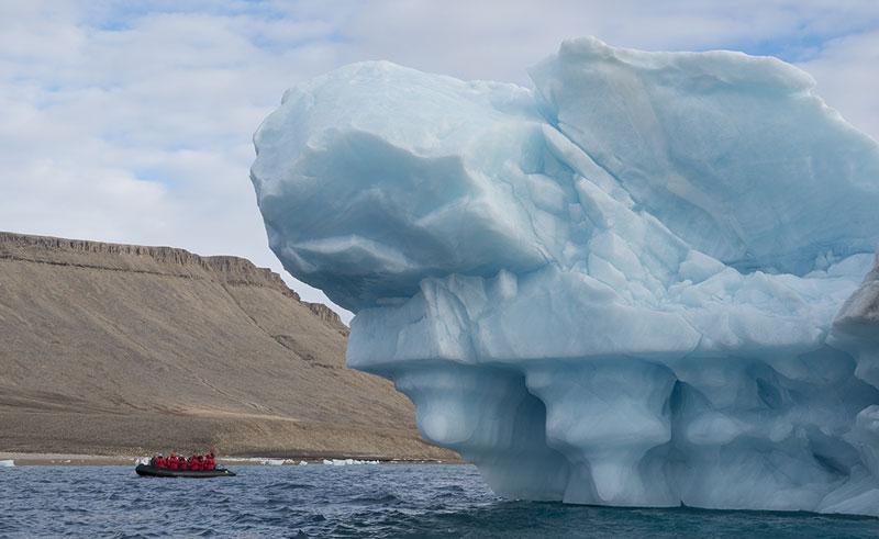canadian arctic croker bay iceberg oo