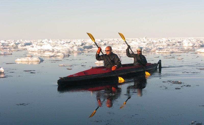 canadian arctic kayaking thro