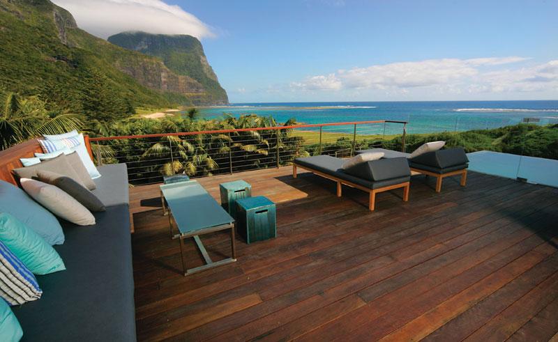 capella lodge terrace