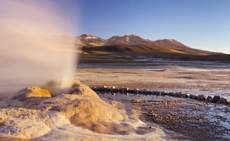chile atacama el tatio geysers istk