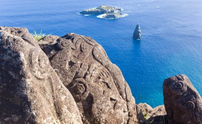 chile easter island bird man petroglyphs istk