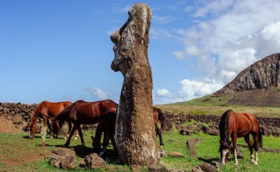 chile easter island horses istk