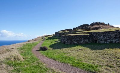 chile easter island orongo stone houses istk