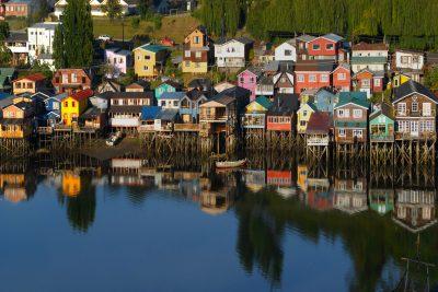 chile lake district castro chiloe island istk