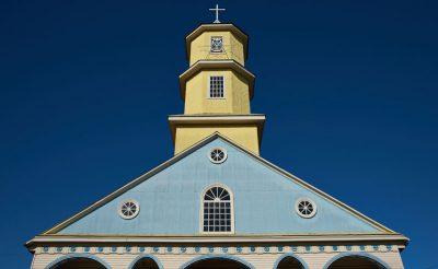 chile lake district chonchi church chiloe istk