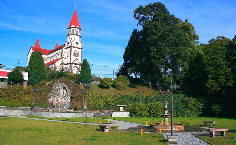 chile lake district puerto varas cathedral istk