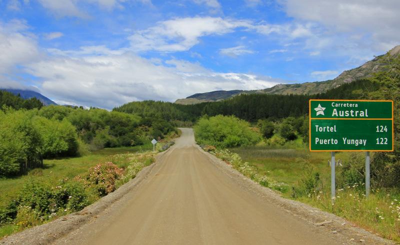 chile patagonia carretera austral road is