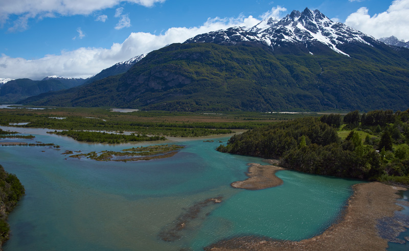 chile patagonia carretera austral view is