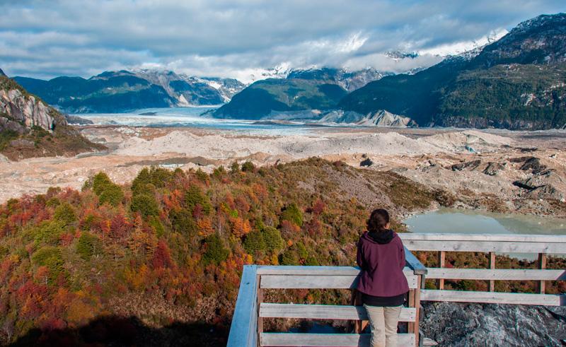 chile patagonia exploradores glacier lookout as