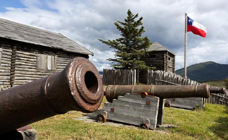 chile patagonia fort bulnes is
