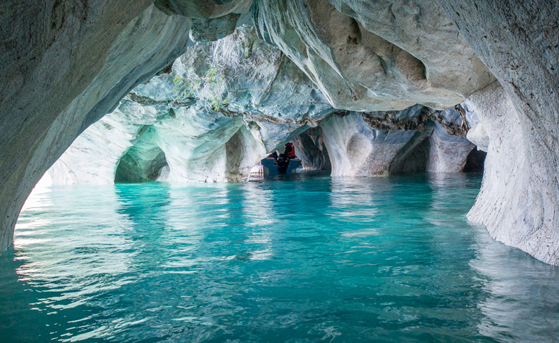 chile patagonia gen carrera marble cathedral boat is