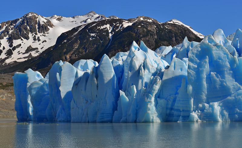 chile patagonia grey glacier is