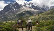 chile patagonia horse riding cas