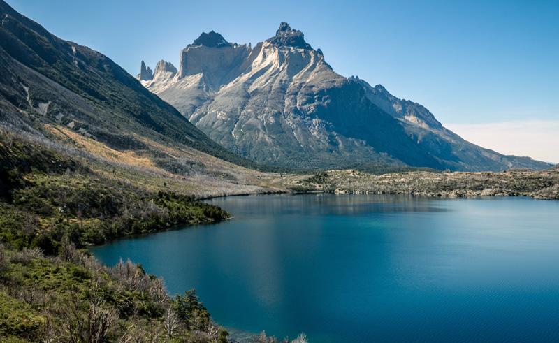 chile patagonia los cuernos torres del paine as