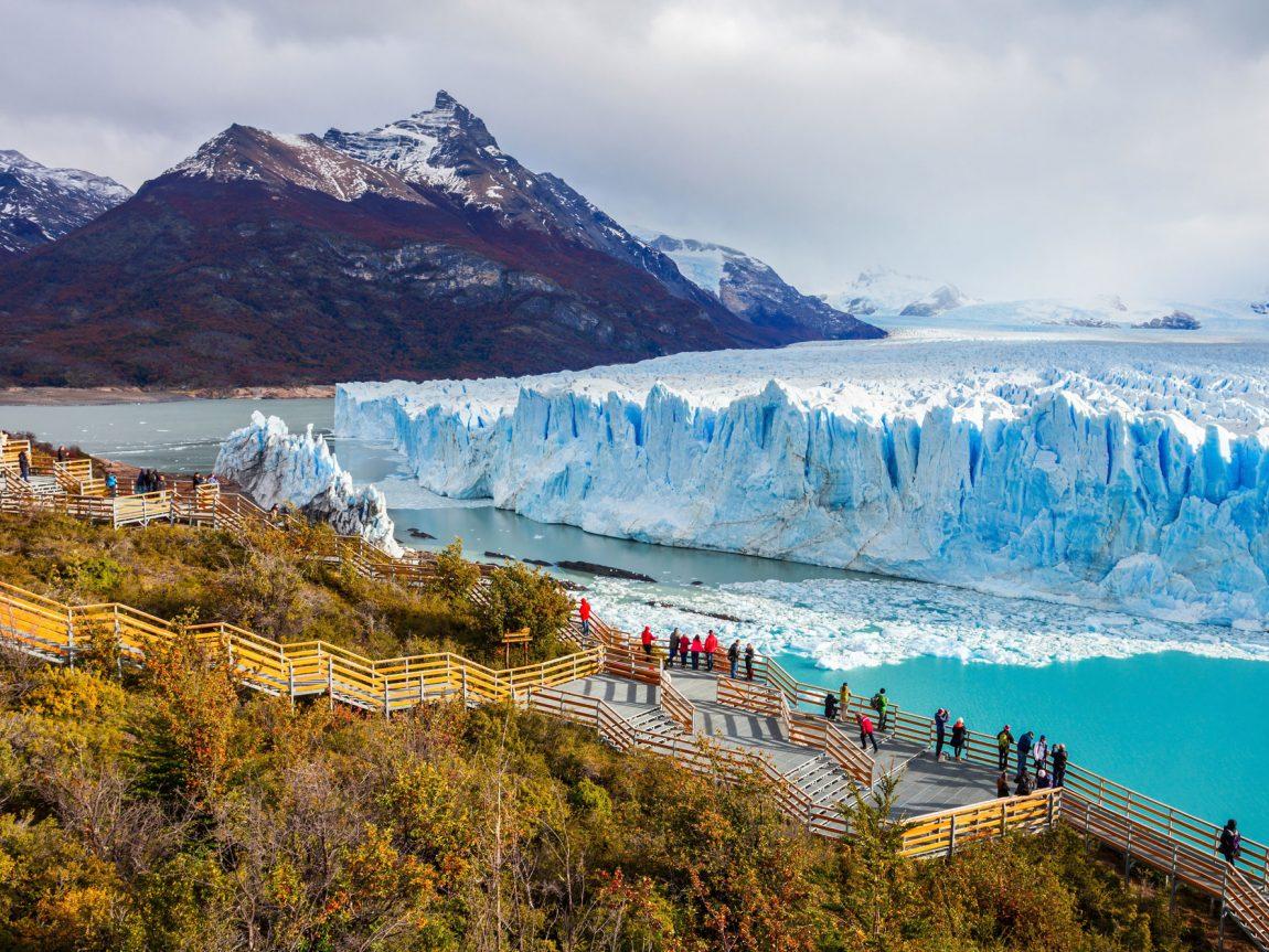chile patagonia perito moreno glacier adstk