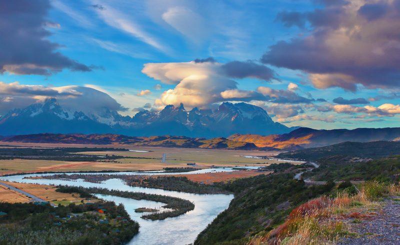 chile patagonia rio serrano is