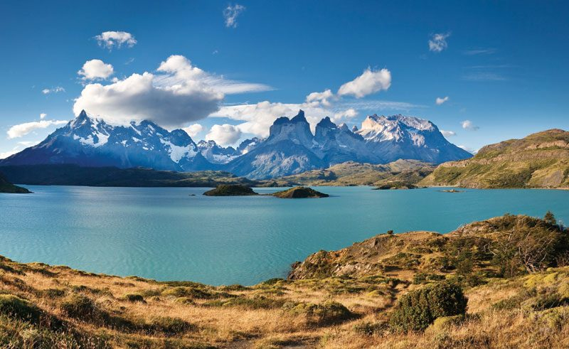 chile patagonia torres del paine sil