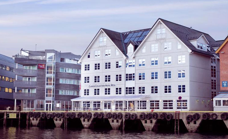 clarion collection hotel with tromso exterior