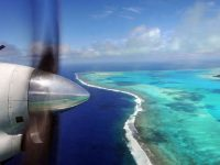 cook islands aitutaki flight istk
