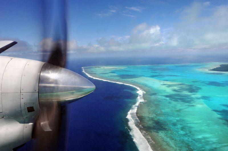 cook islands aitutaki flight istk