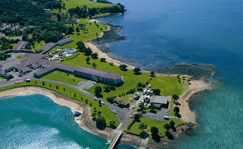 copthorne hotel and resort paihia aerial