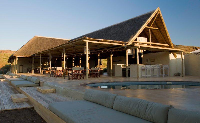 damaraland camp main building exterior