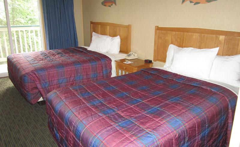 denali bluffs hotel guestroom