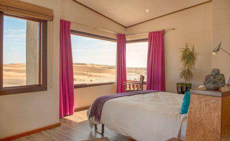 desert breeze bedroom view