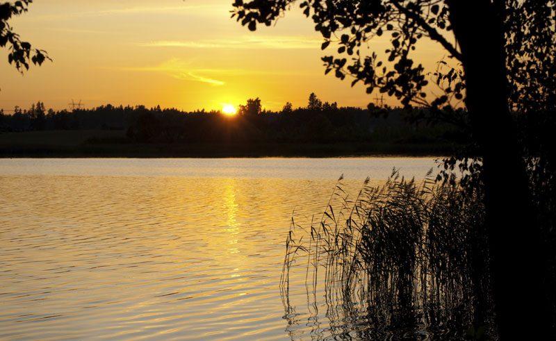 east finland lakes sunrise istock