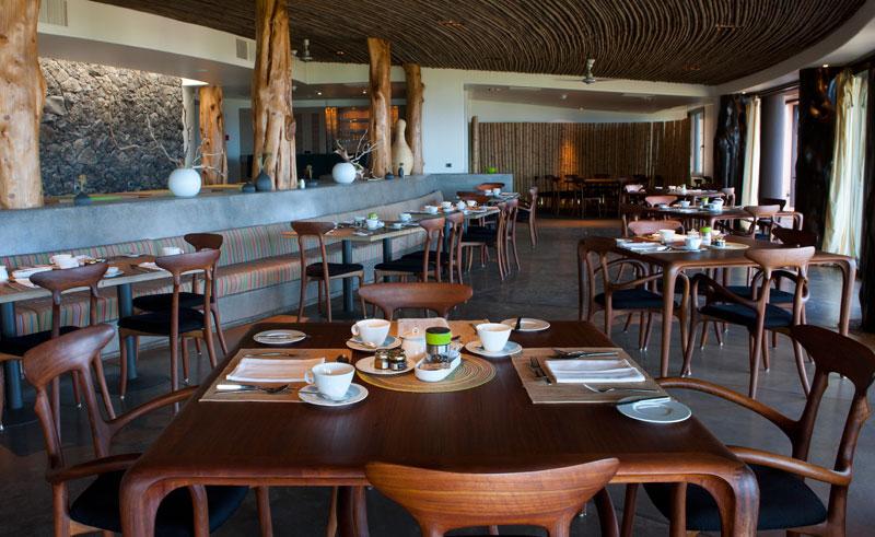 easter island hanga roa main dining area