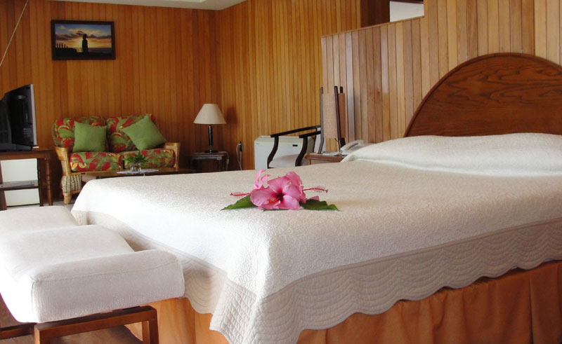 easter island iorana double room