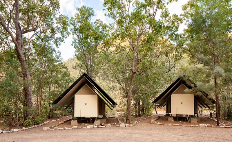 el questro wilderness park emma gorge safari style tents