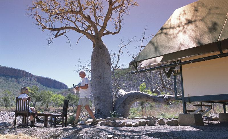 el questro wilderness park emma gorge safari style tents2