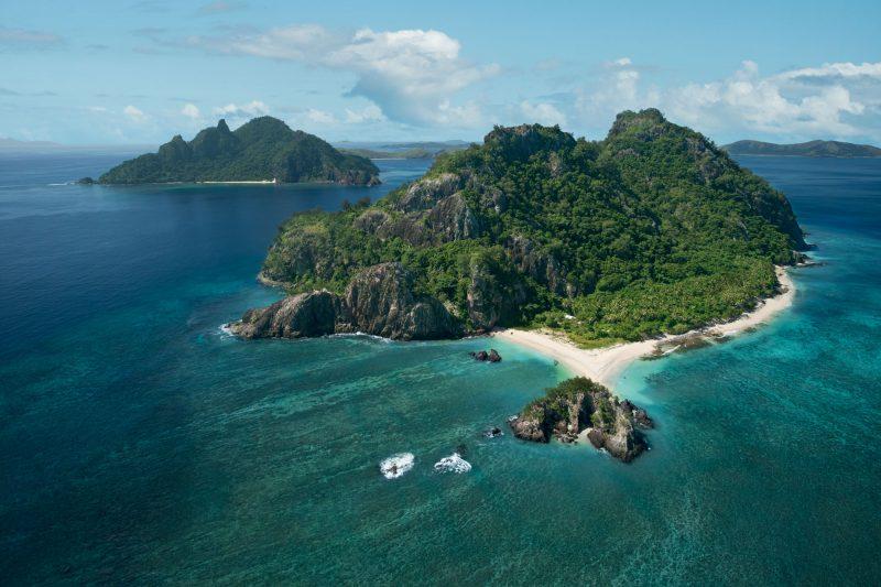 fiji mamanuca atoll tivua cruise aerial tf